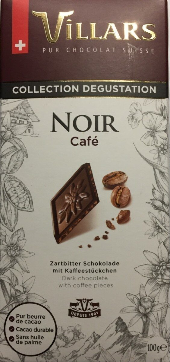 Chocolat Noir Café - Prodotto - fr