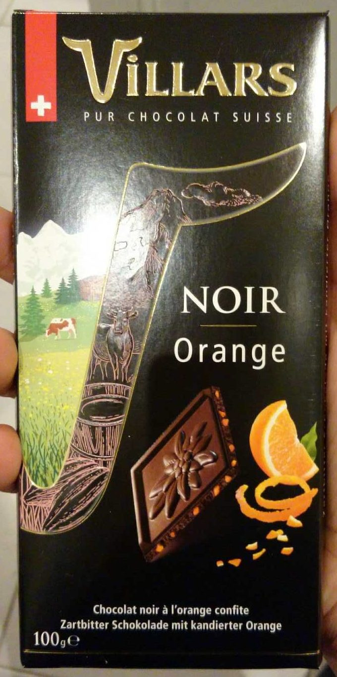 Noir Orange - Product