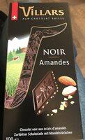 PUR CHOCOLAT SUISSE NOIR Amandes - Produto - fr