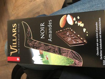 Chocolat noir Amandes - Ingredients