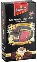 Les mini chocolats Noirs assortis Villars 250 gr, 1 Paquet - Produit - fr