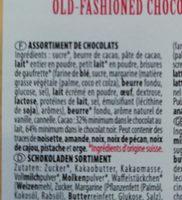 Chocolat Coupole Féderale Villars 200 GR - Ingredients