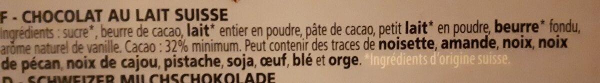 Lait pur - Ingredients