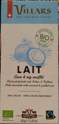 Lait Coco & Riz Soufflé - Prodotto - en