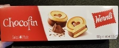 Wernli Biscuit Chocofin 100 Gr - Product