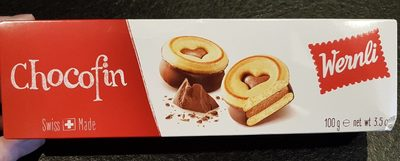 Wernli Biscuit Chocofin 100 Gr - Product - fr