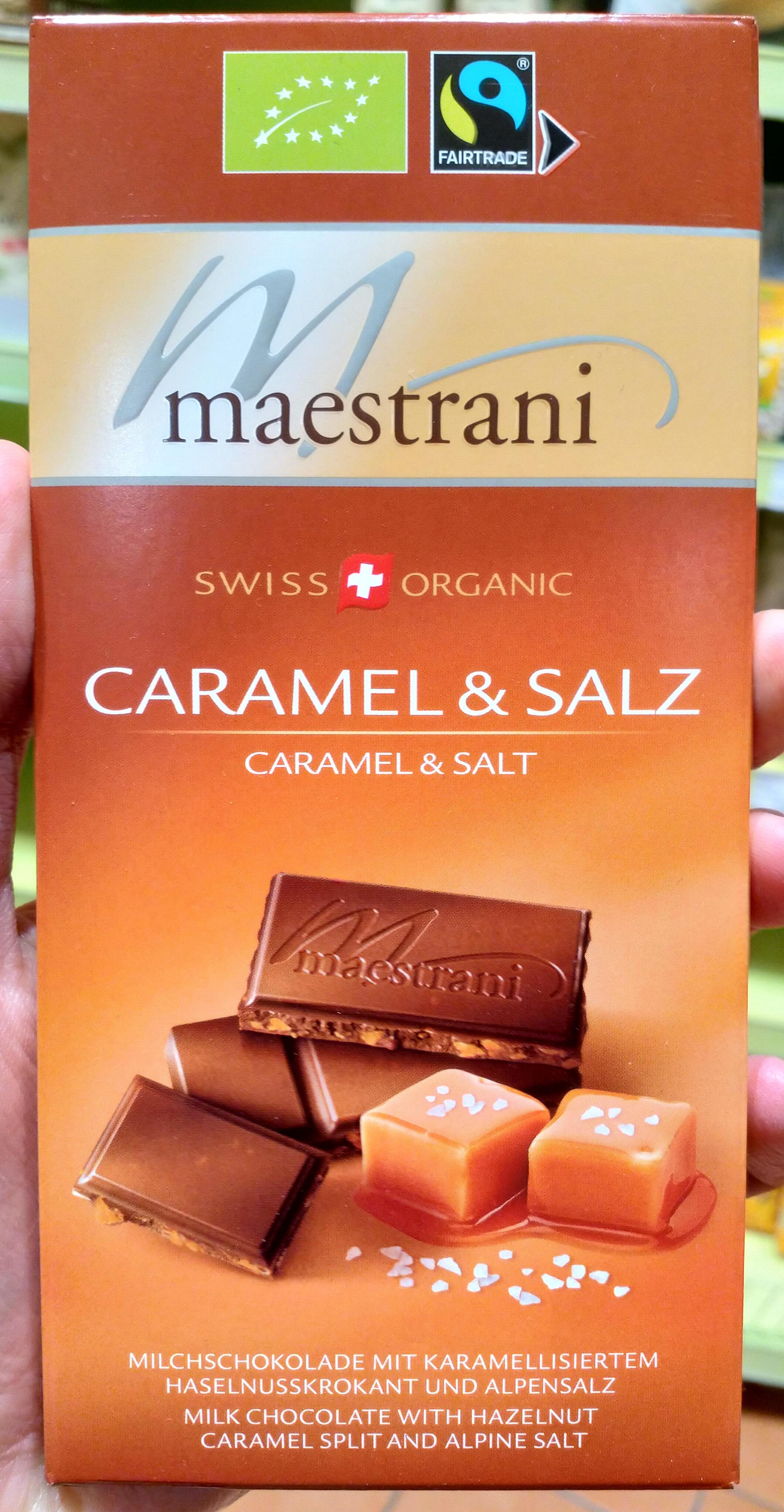 Caramel & Salz Milch schokolade - Product - de