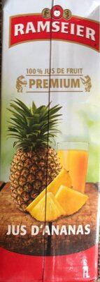 Jus d'ananas premium - Produit