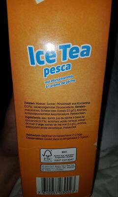 Icetea Pesca - Ingrediënten - fr