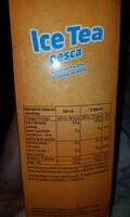 Icetea Pesca - Voedingswaarden - fr