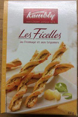 Les Ficelles au fromage et aux légumes - Product - fr