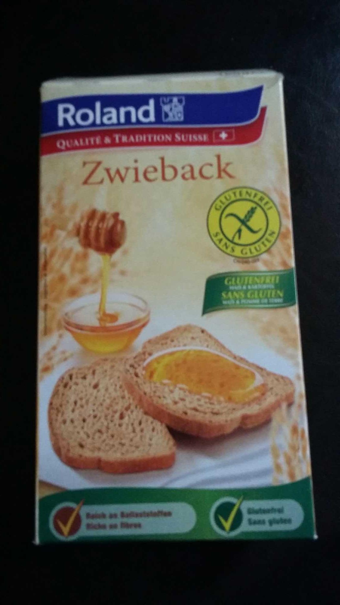 Biscottes sans gluten - Product