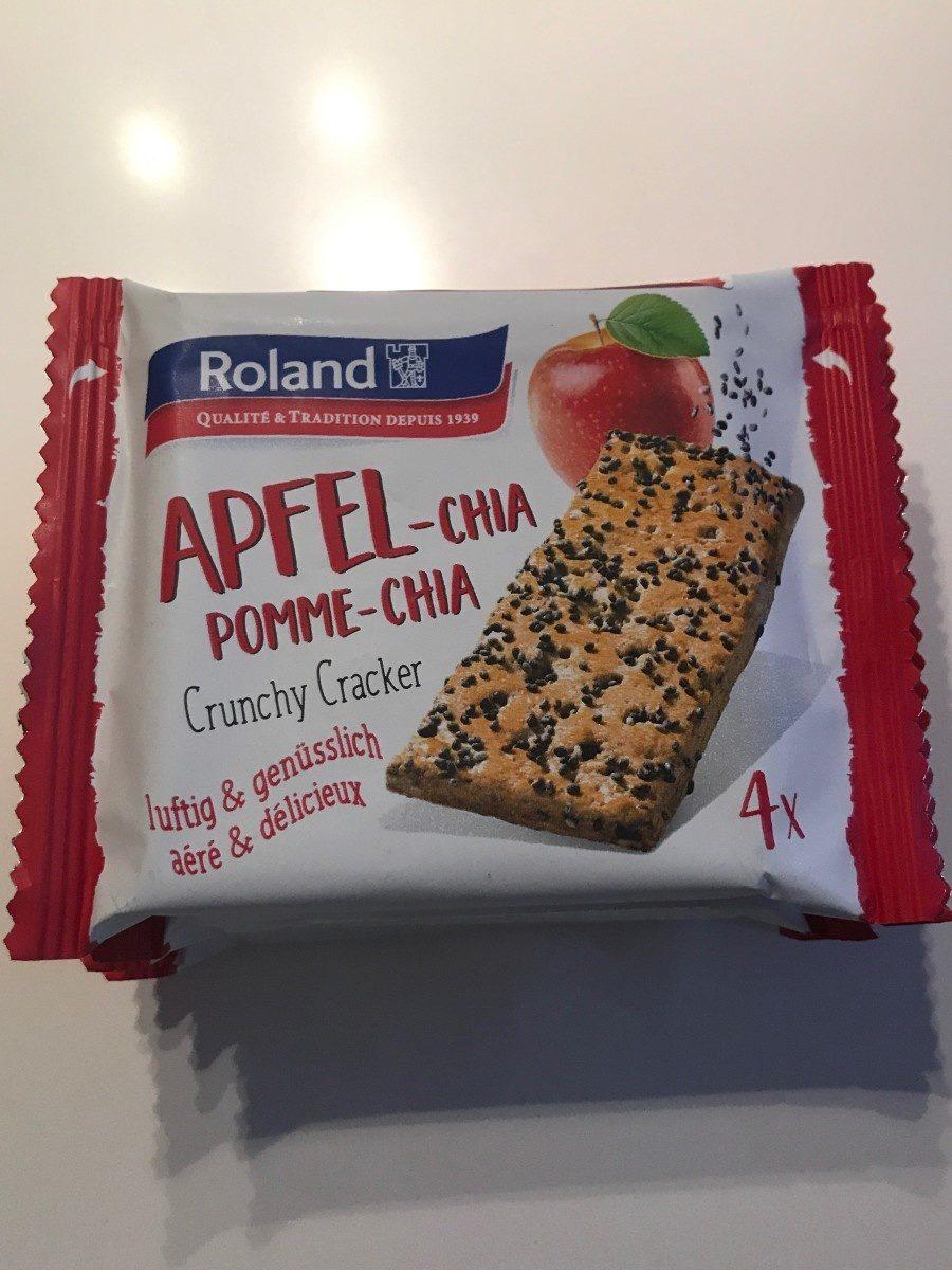 Cracker à la pomme & aux graines de chia - Produit - fr