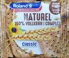 Biscotte naturel 100% blé complet - Product