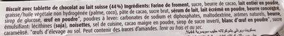 Wernli Choco Petit Beurre - Ingredients