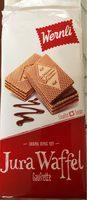WERNLI JURA WAFFELN ORIGINAL, Schokolade - Produkt