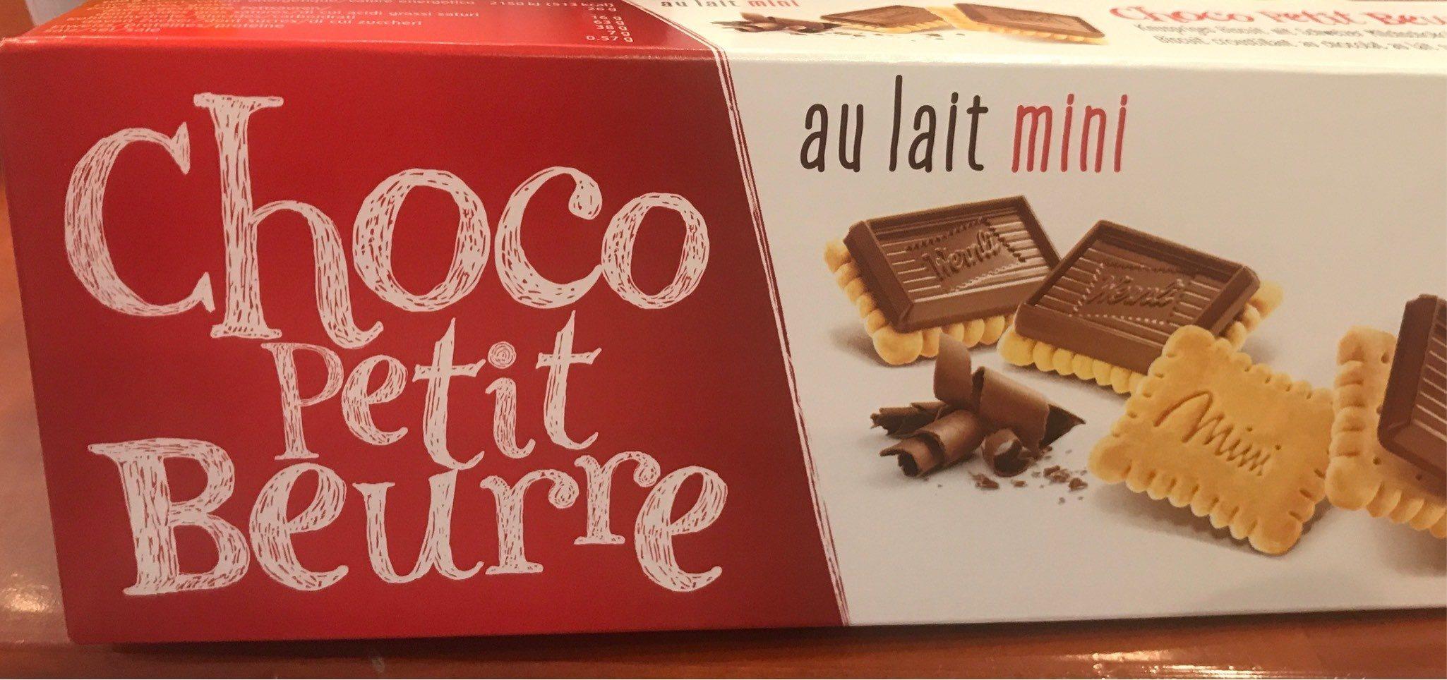 Mini Choco Petit Beurre Au Lait - Product - fr