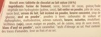 Mini Choco Petit Beurre Au Lait - Ingrediënten - fr