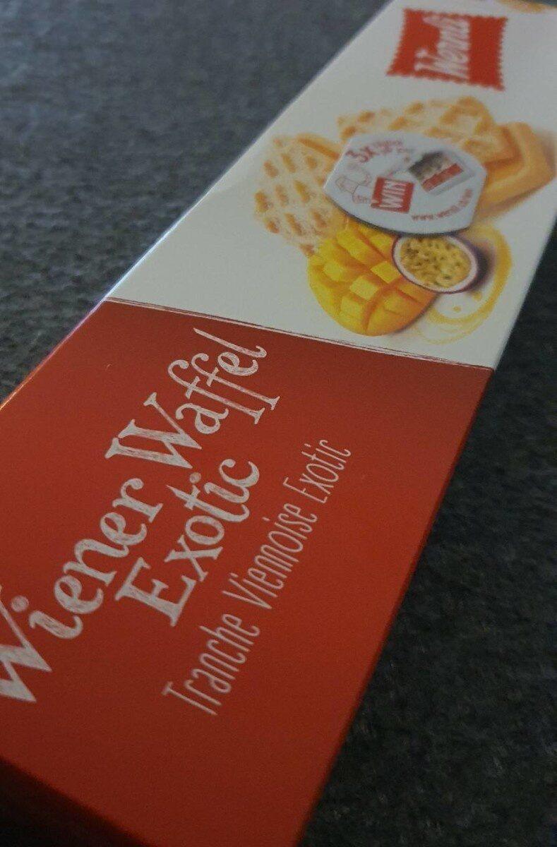 Wiener Waffel Exotic - Informazioni nutrizionali - fr