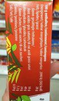 Jungle Choco Petit Beurre - Nutrition facts - fr