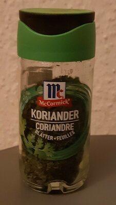 Coriandre - Prodotto - fr