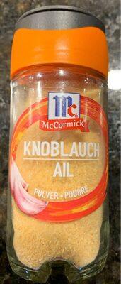 Mccormick Knoblauchpulver - Prodotto - fr