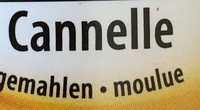 Canelle moulue - Ingredients