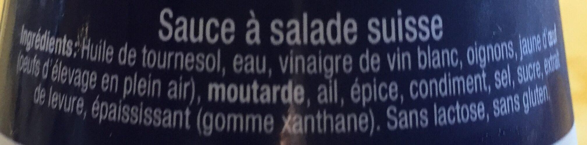 Mövenpick Sauce Salade French 45CL - Ingrédients - fr