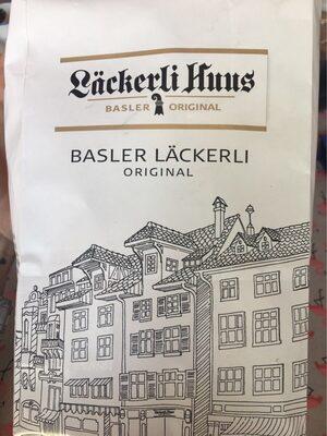 Pains d'épice Laeckerli Huus de Bâle - Produit - fr
