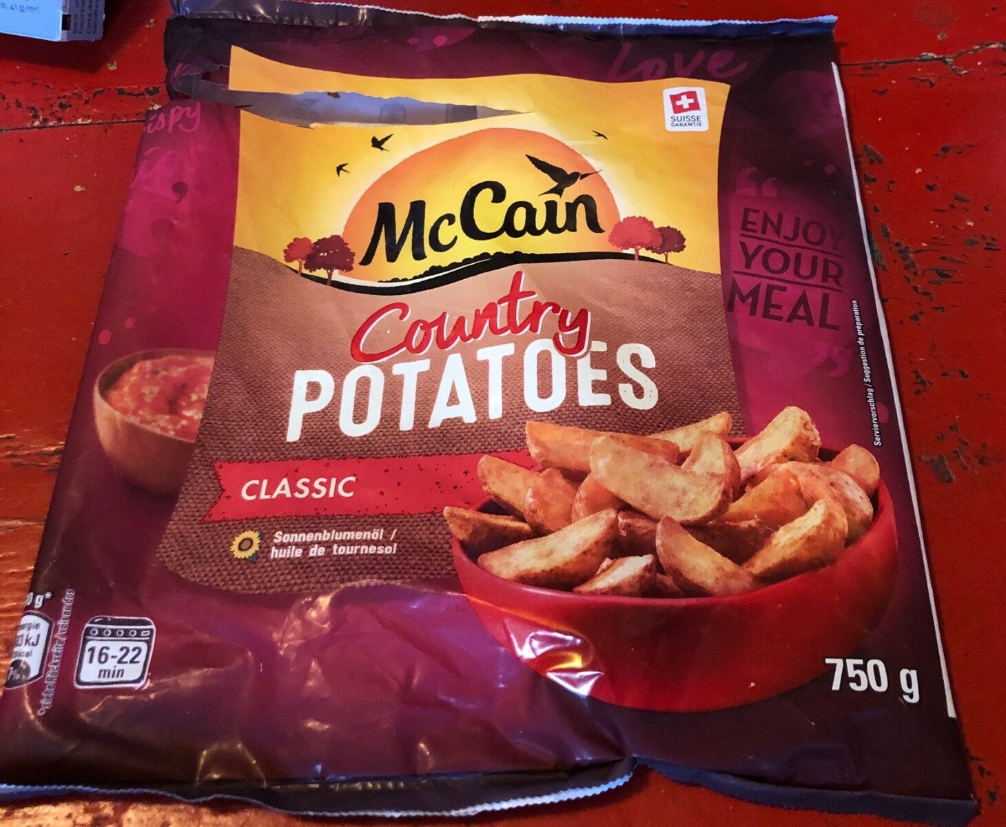 Country potatoes - Product