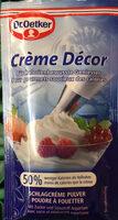 Crème Décor - Prodotto - fr