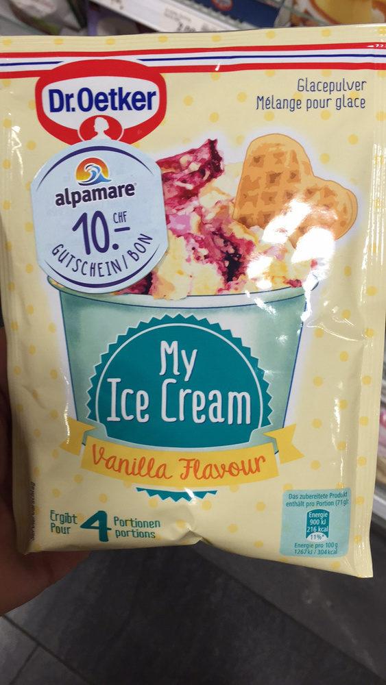 My Ice Cream : Vanilla Flavour - Product - fr