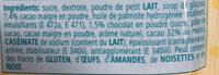 My Ice Cream Chocolate Flavour - Ingredienti - fr