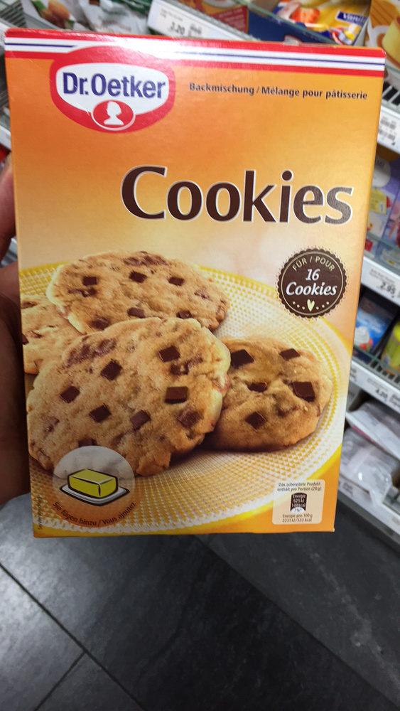 Cookies - Produit