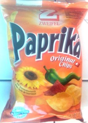 Paprika Original Chips - front