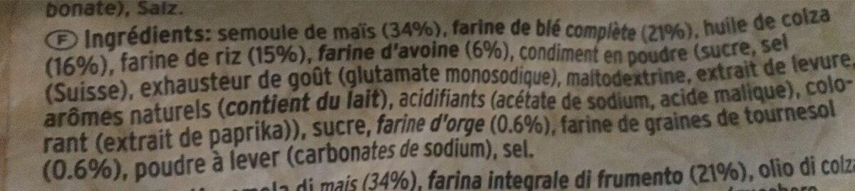 Graneo Multigrain Snack Original - Ingredienti - fr