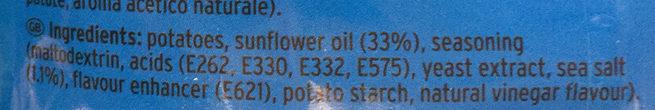 Salt & Vinegar Original Chips - Ingrédients
