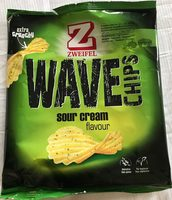 Wave Chips Sour Cream - Product - fr
