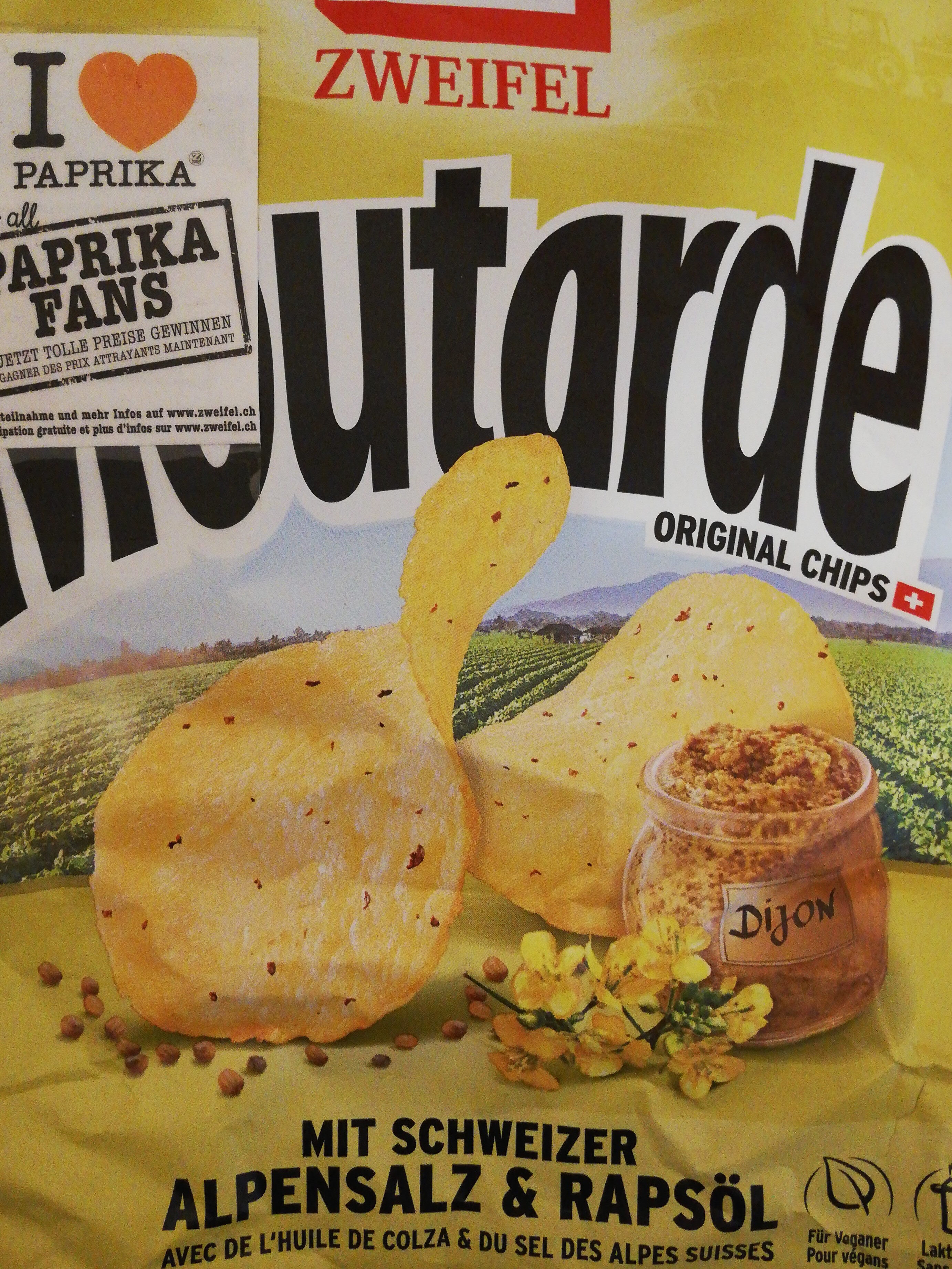 Moutarde Original Chips - Product