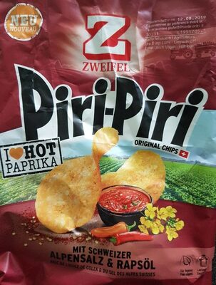 Piri-Piri original chips - Product - fr