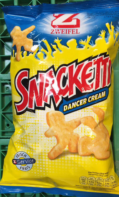 Snacketti Dancer Cream - Product