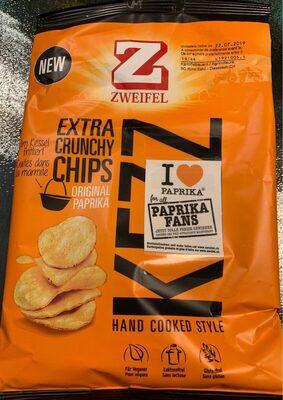 Extra crunchy chips - Produit