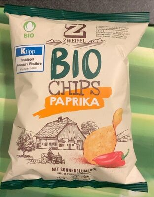 Chips Bio Paprika - Product - de