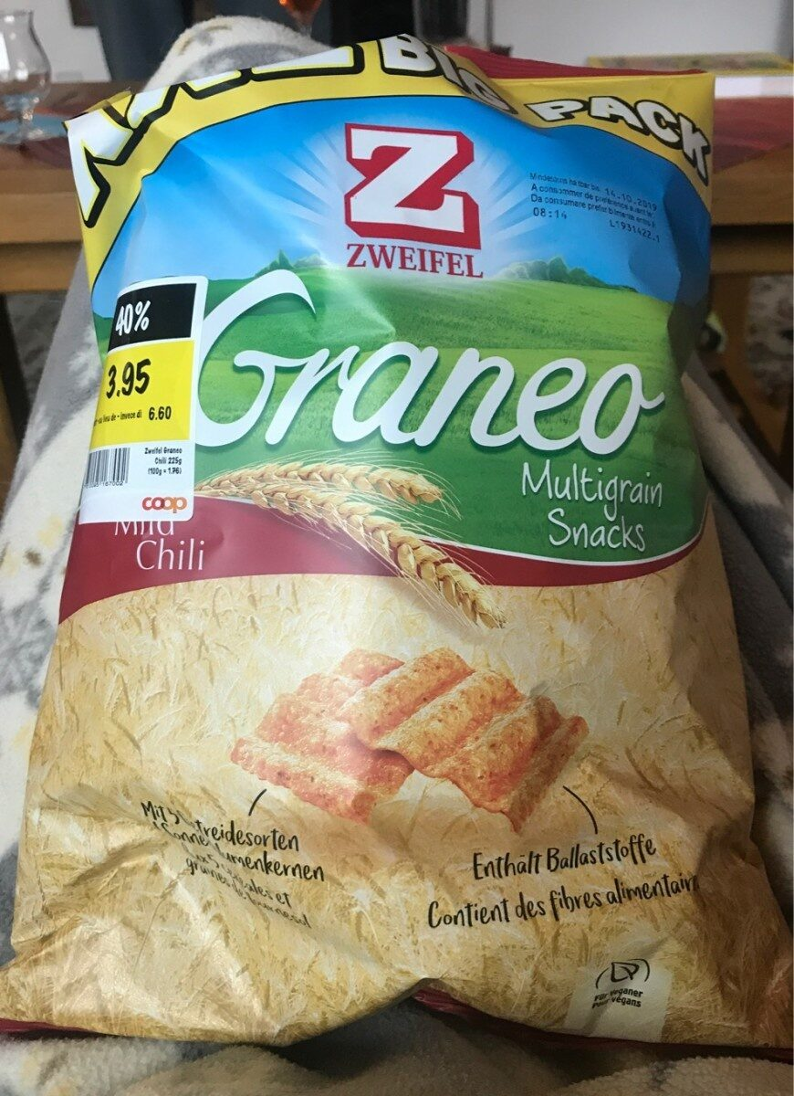 Graneo multigrain snacks - Product - fr