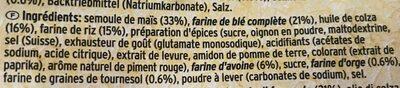 Graneo multigrain snacks - Ingrédients - fr