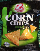 Corn Chips Original Zweifel 125 Gr, 2 Sachets - Prodotto - fr