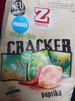 Baked Cracker Paprika - Product - fr