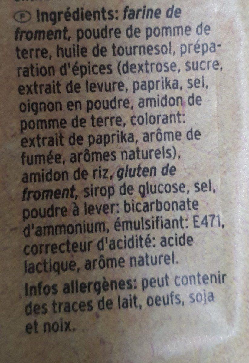 Baked Cracker Paprika - Ingrediënten - fr