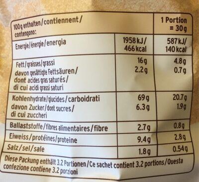Baked Cracker Paprika - Voedingswaarden - fr
