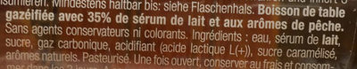 Rivella pêche - Ingredients - fr